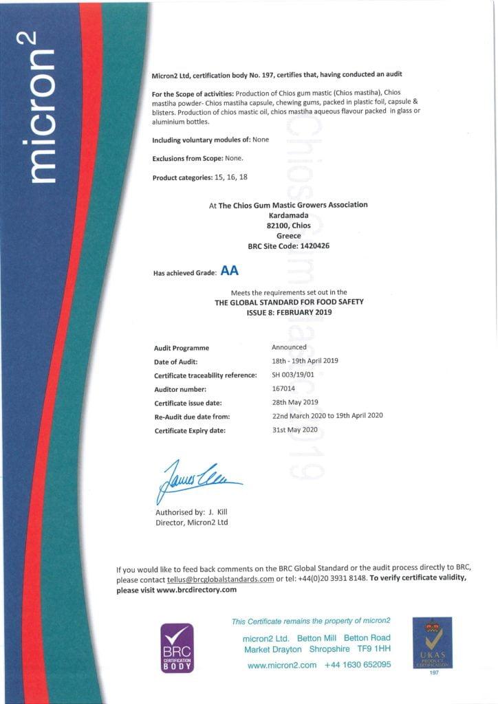 certifikat proizvajalci